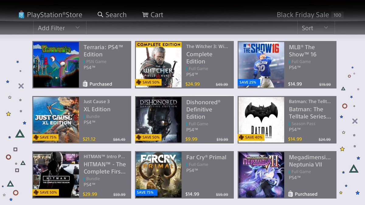 PS Store Sales