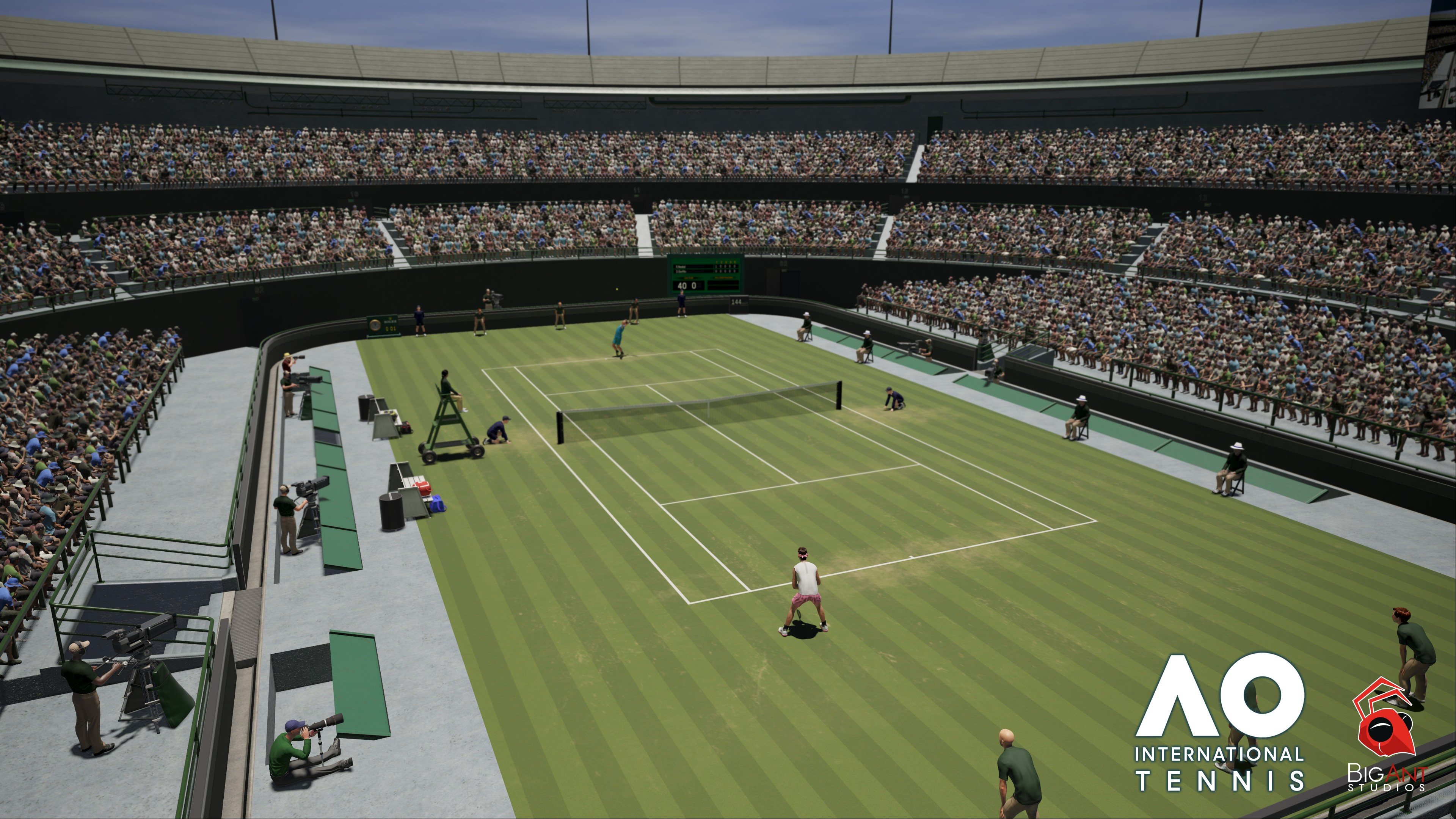AO International Tennis Screenshot 1