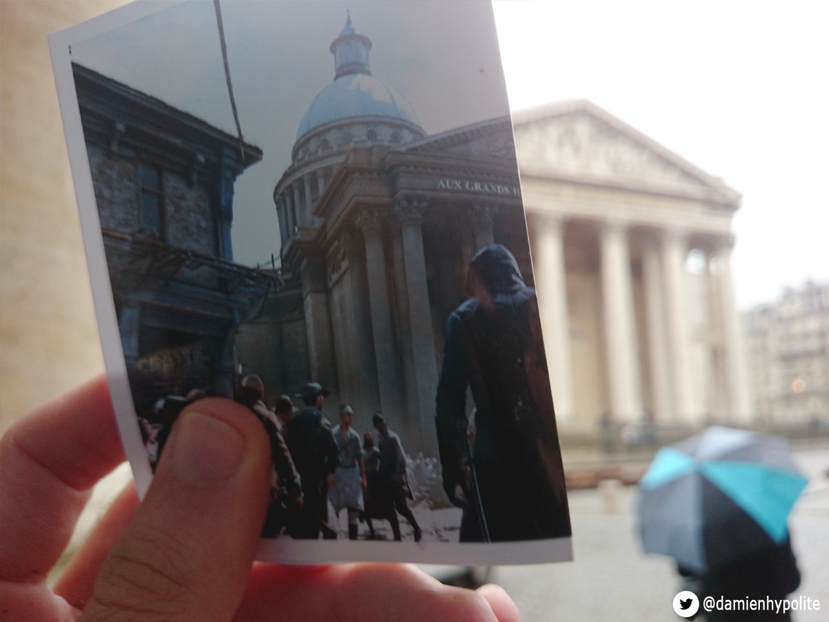 Assassin's Creed Unity Compared to Modern-Day Paris