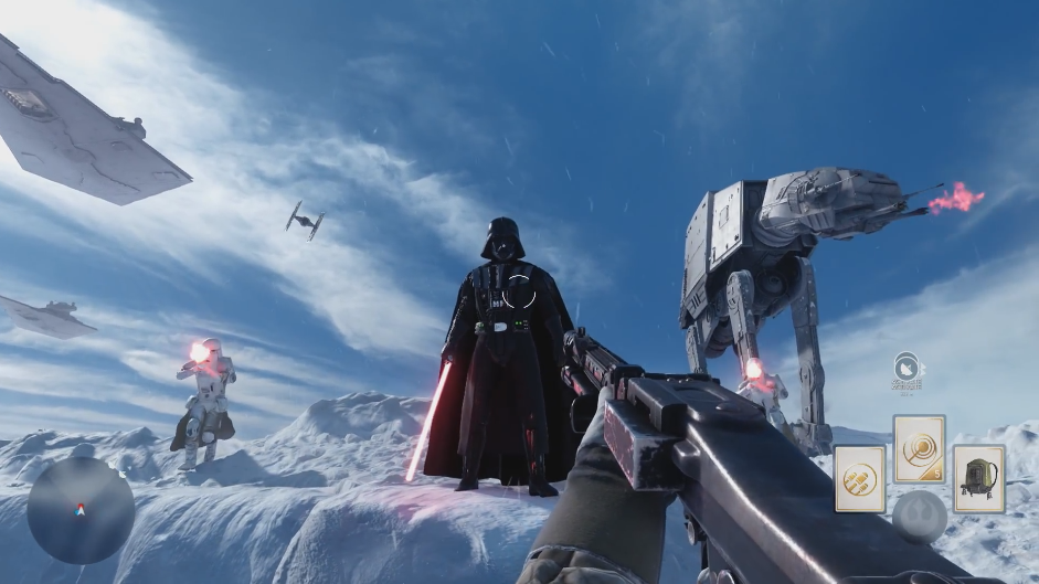 Star Wars Battlefront Multiplayer Footage Might Have Lived Up to the Hype