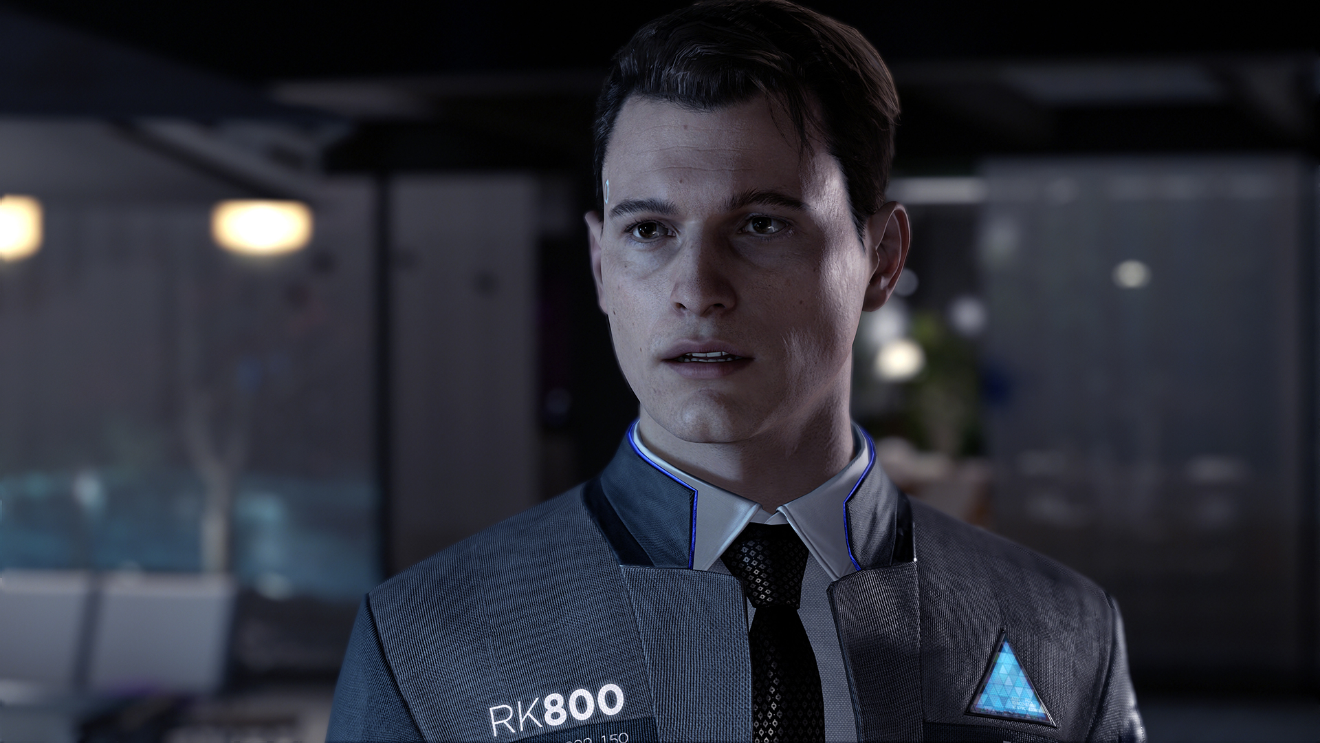 Bryan Dechart as Connor (Detroit: Become Human)