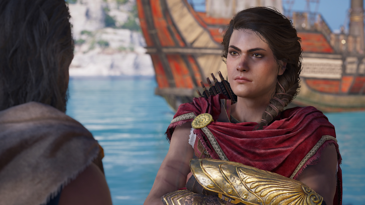 Melissanthi Mahut as Kassandra (Assassins Creed Odyssey)