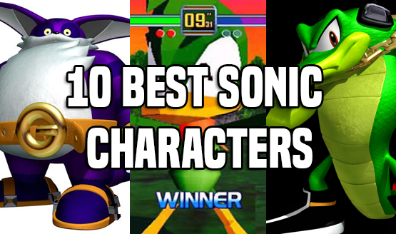 10 Best Sonic Characters