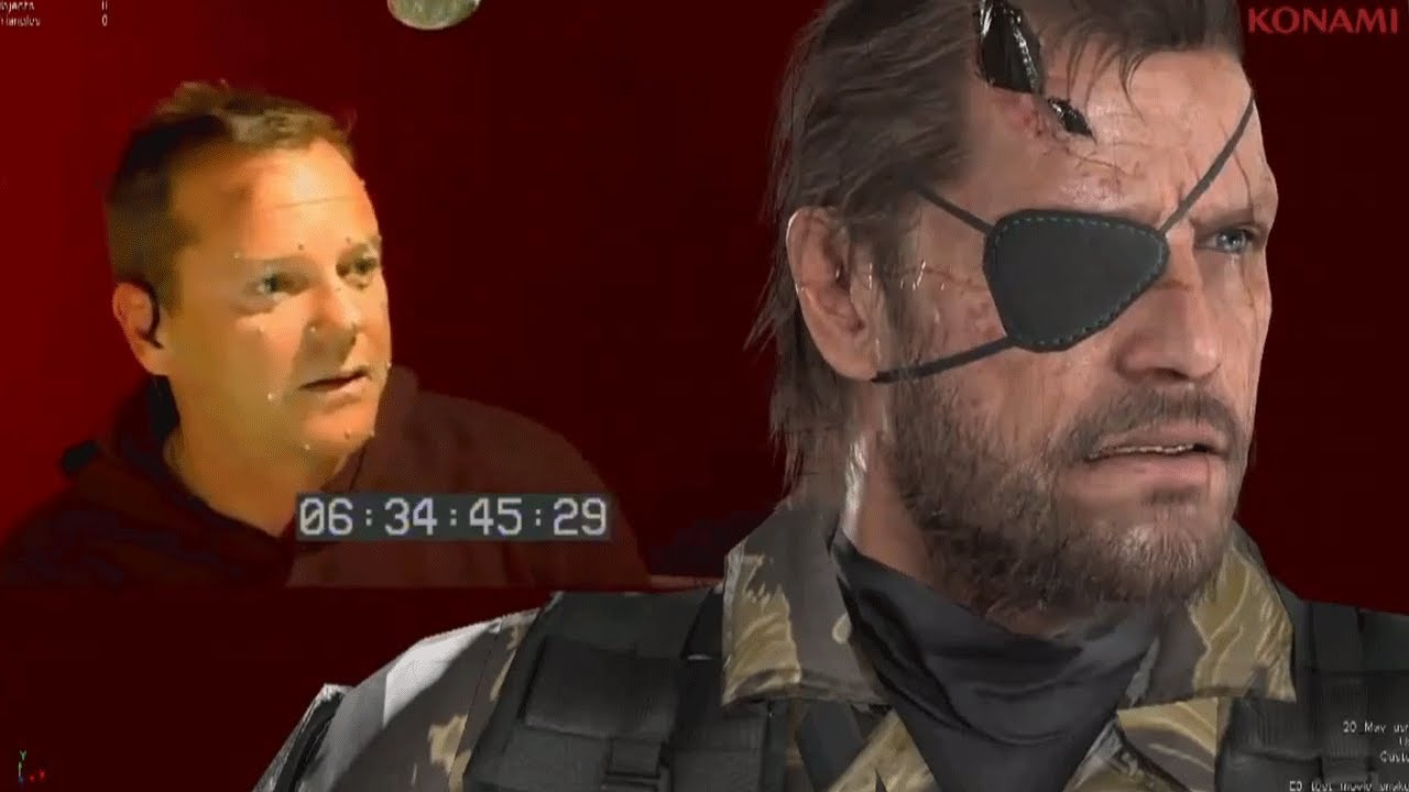 Kiefer Sutherland Supplants David Hayter As Snake