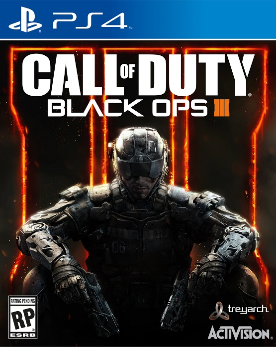 Call of Duty Black Ops 3 PS4 Box Art