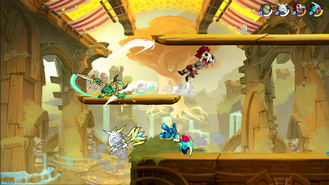 Brawlhalla Update Adds Rayman to the Roster Fall 2018