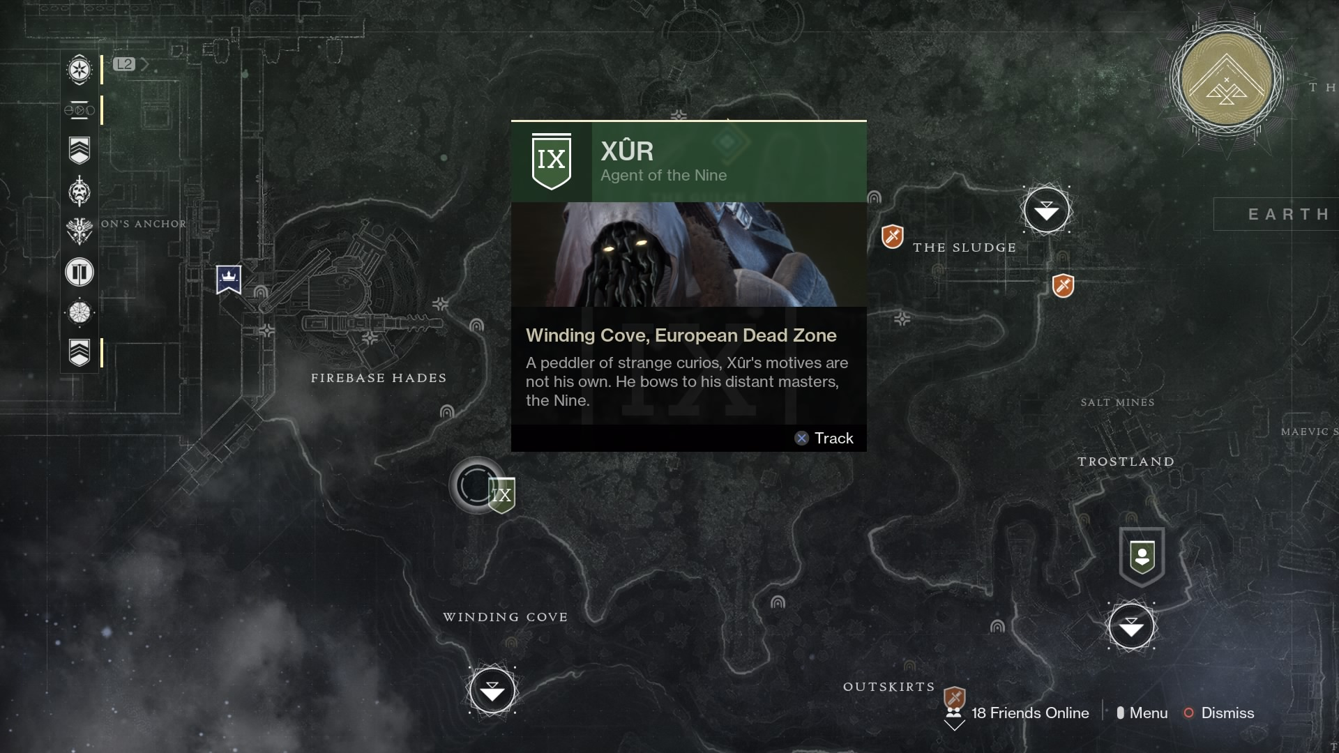 Destiny2: Where's Xur? Location And Exotic Weapons Guide ...