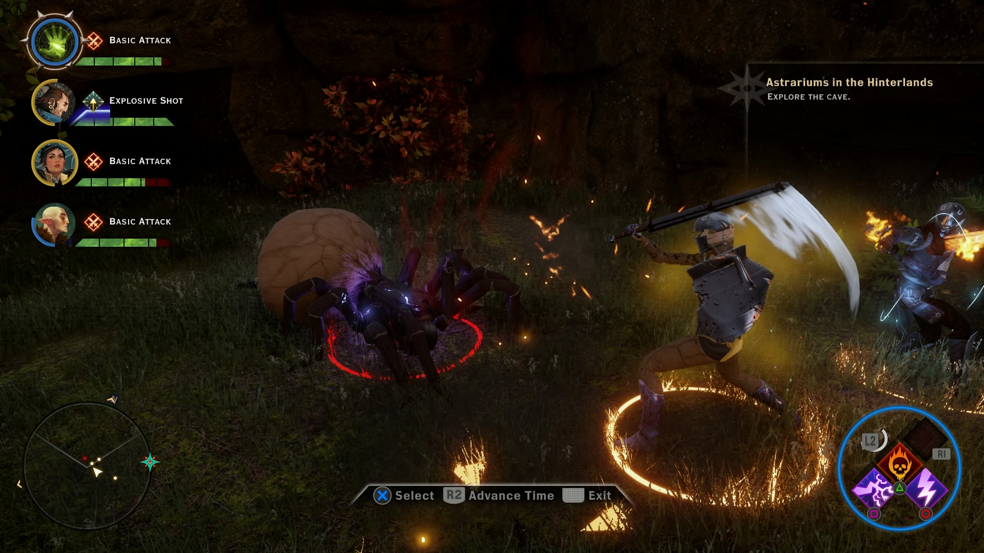 Players Can Use Numerous Skills and Spells on Enemies