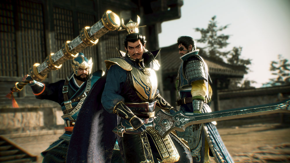 Example from Photo Mode - Cao Cao and the Xiahous