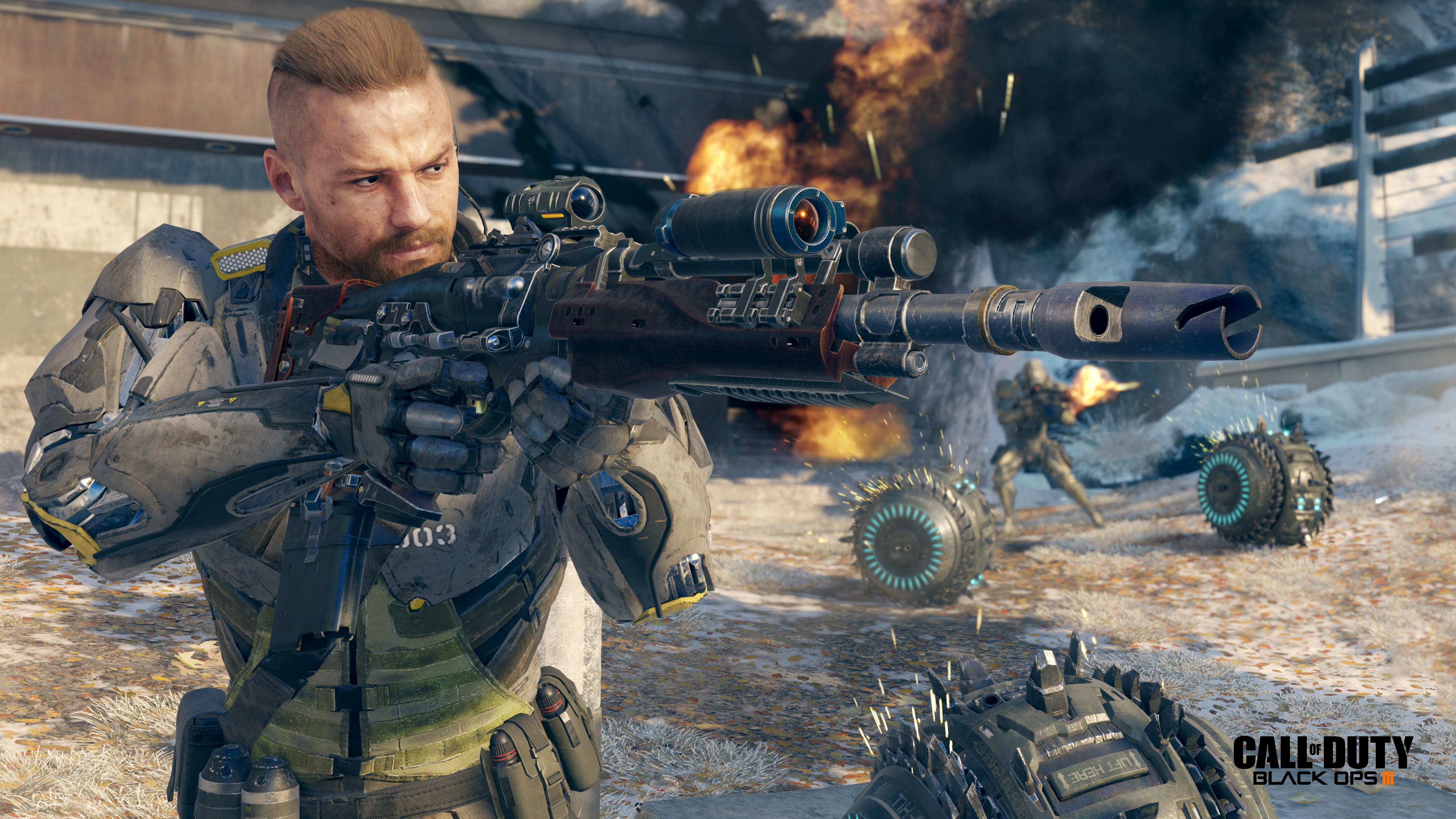 Call Of Duty Black Ops 3 Beta Preview Redefining Movement