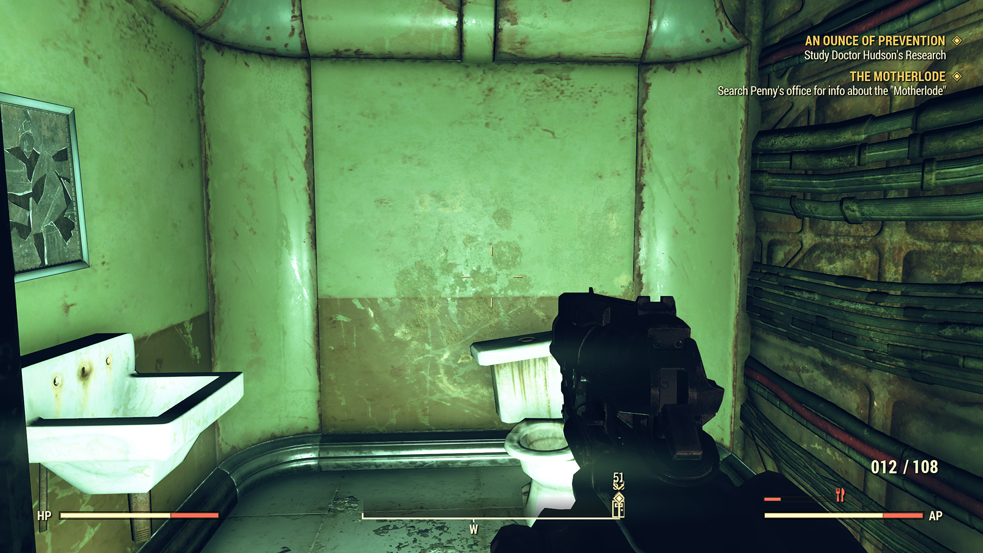 Fallout 76 Players Found the Developer Room, and the Game's Only NPC