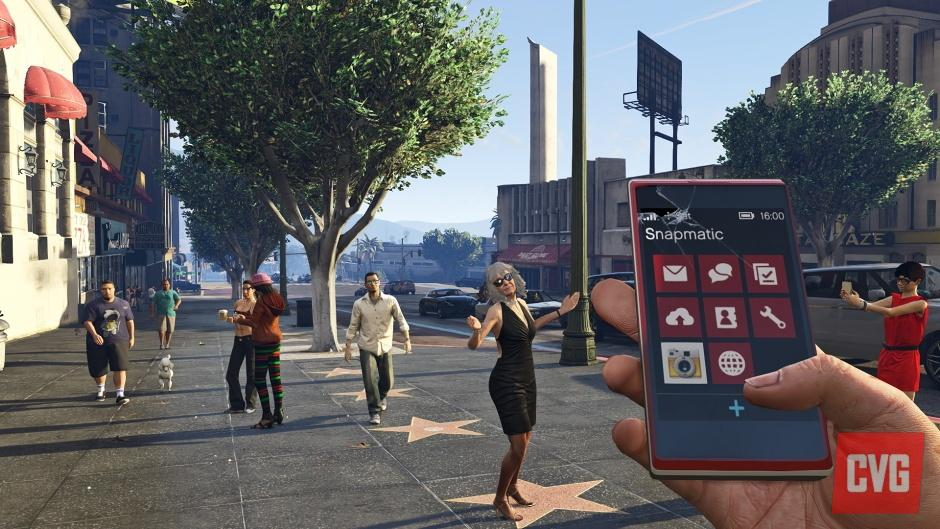 Grand Theft Auto V First-Person Mode