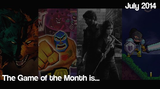 The July 2014 Game of the Month is...