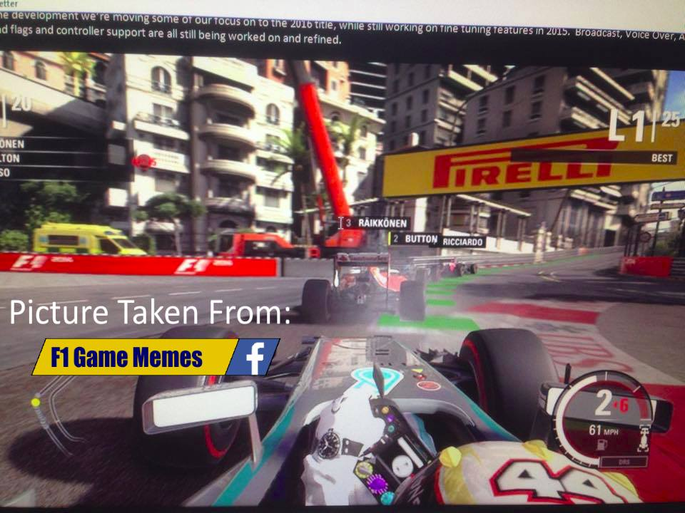 Leaked F1 2015 Images