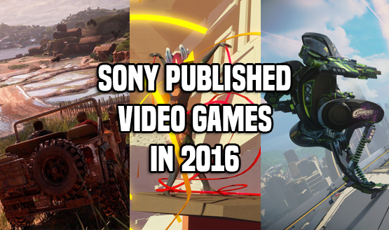 Sony Published 2016 Games