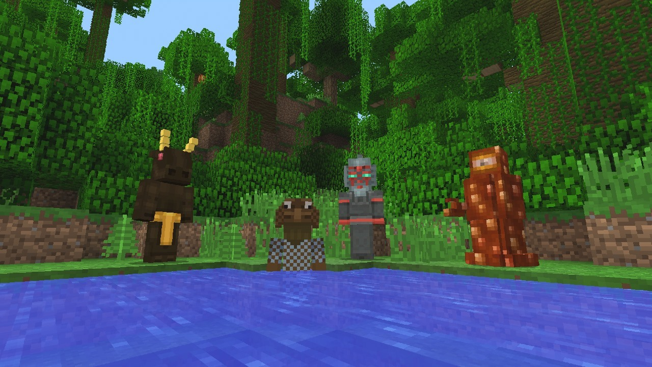 Minecraft Doctor Who Skin Pack
