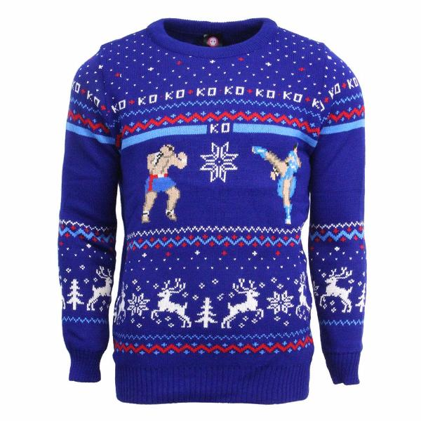 Street Fighter Christmas Sweater