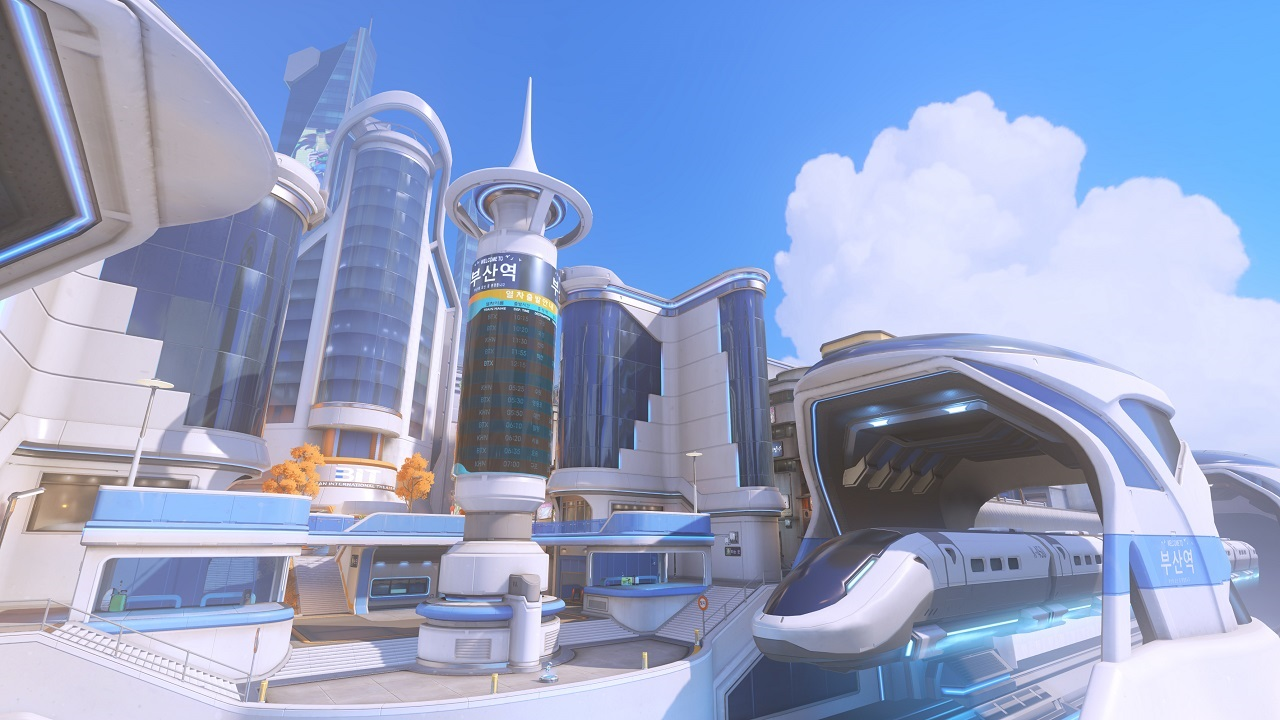 Overwatch Busan Map