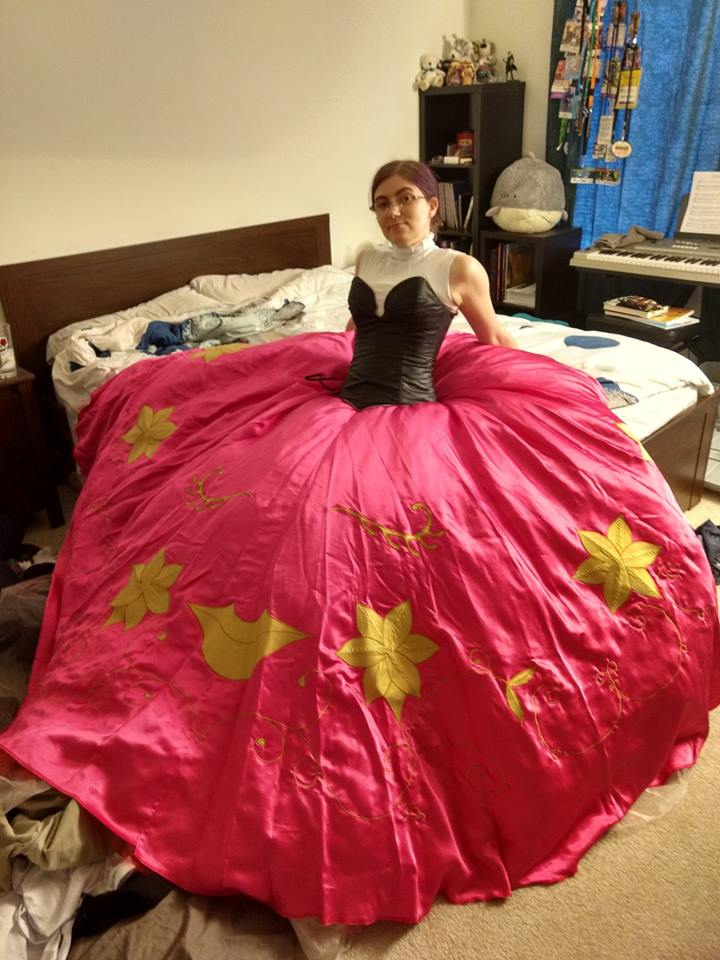 Persona 5 Milady Cosplay Skirt