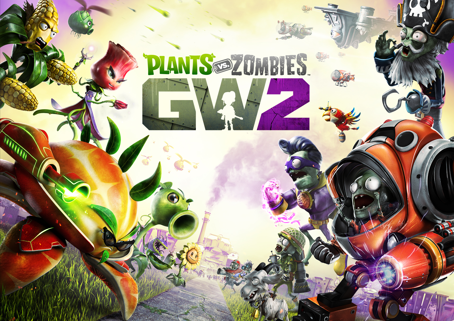 Plants Vs. Zombies: Garden Warfare 2 Preview