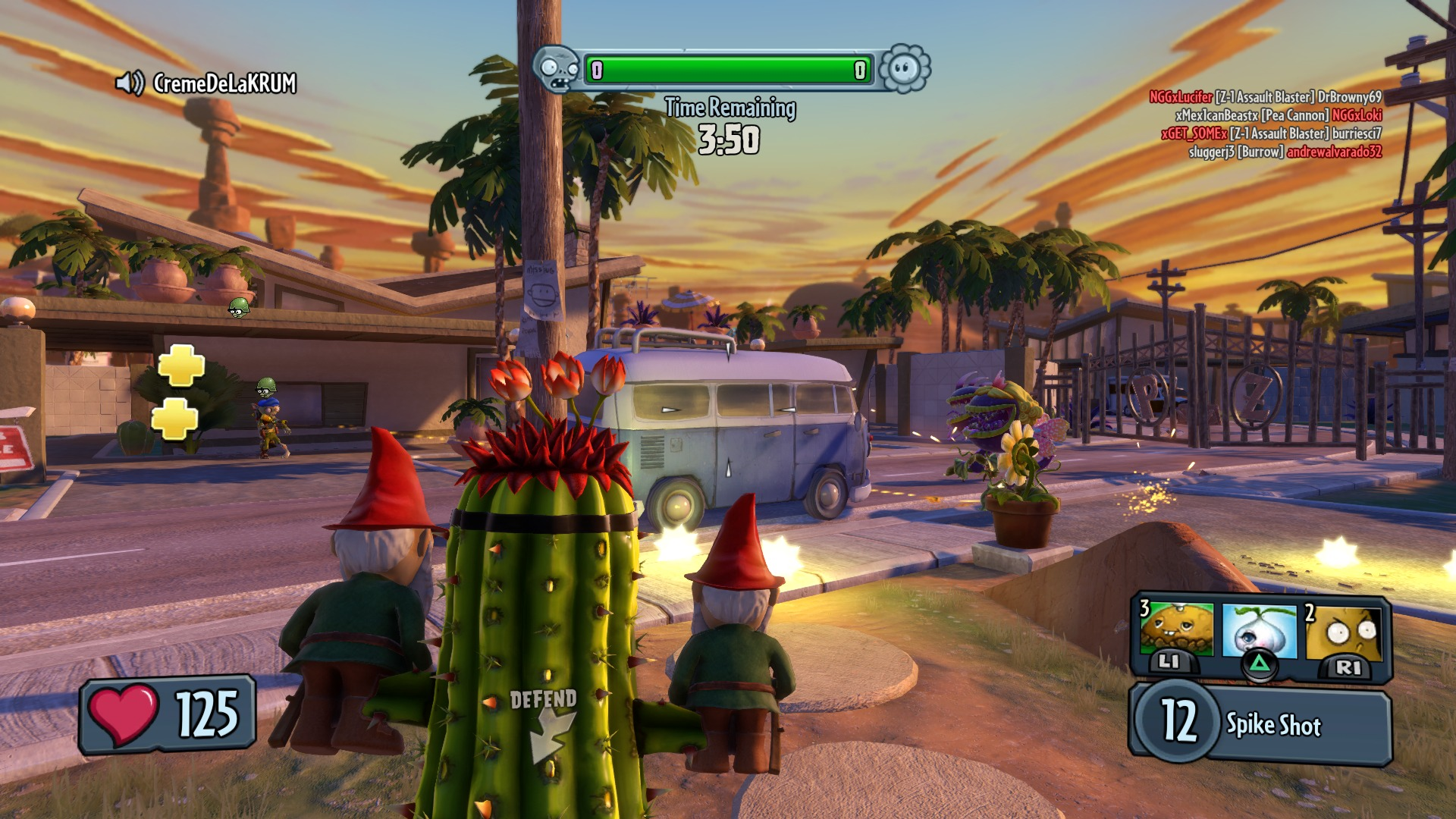 Plants vs  Zombies: Garden Warfare Review - Weed Free (PS4)