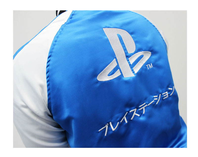 PlayStation Jacket Collab Between Insert Coin and PlayStation Gear