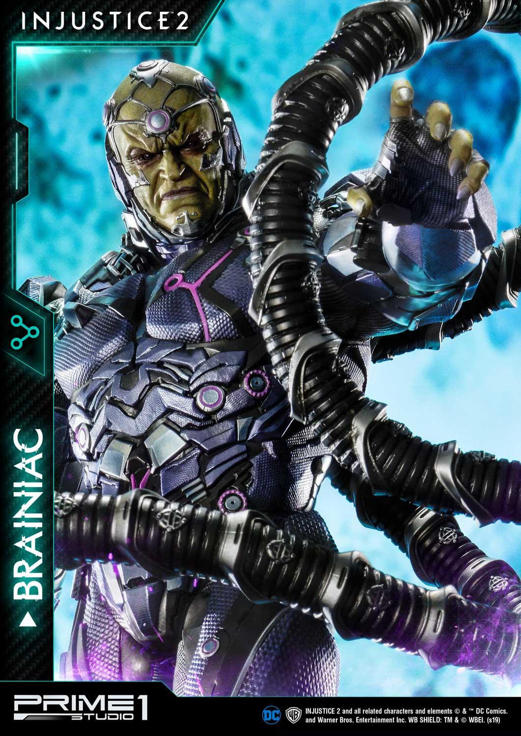Prime 1 Studio's Injustice 2 Brainiac Statue