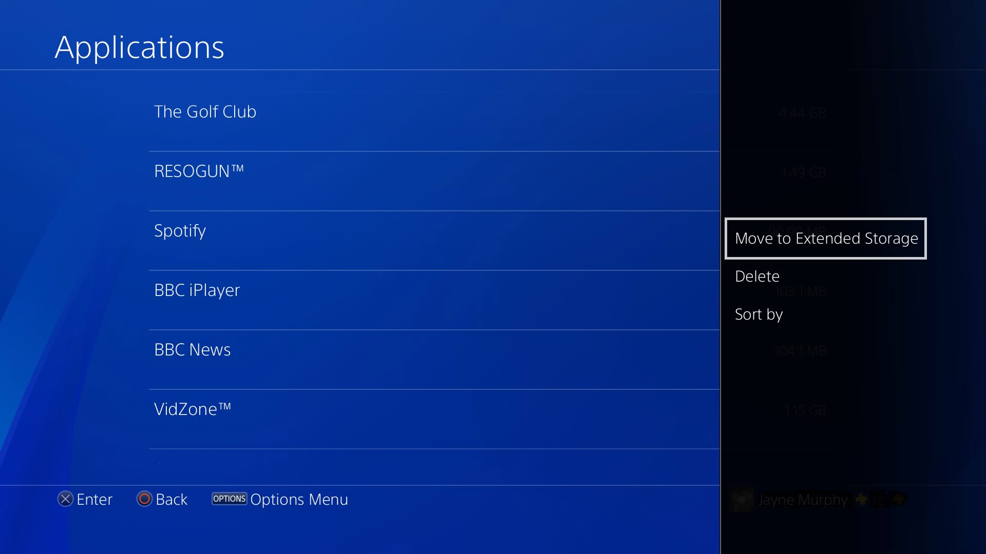 PS4 Update 4.50 External HDD
