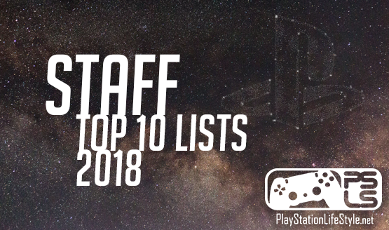 PSLS Staff Top 10 Games of 2018 Lists