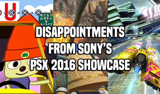 Disappointments From Sony's PSX 2016 Showcase