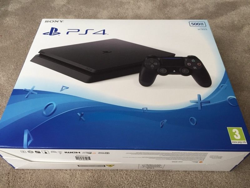 PS4 Slim Box Shot