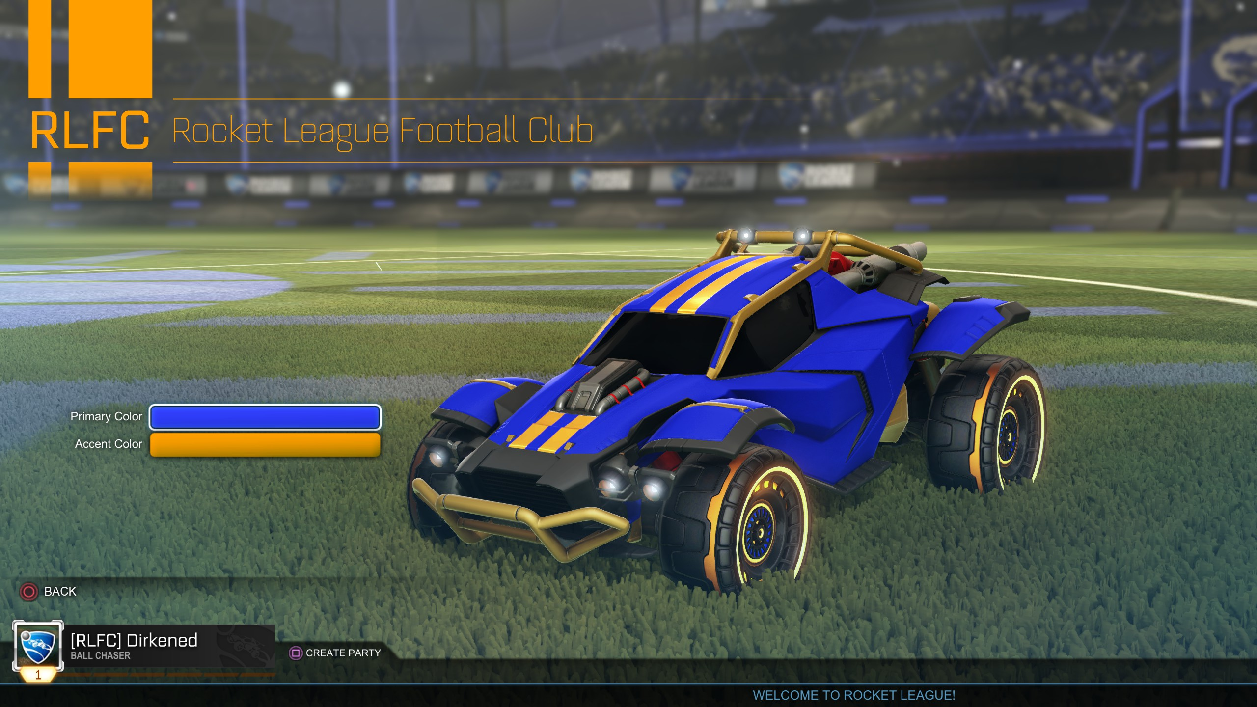 Rocket League Progression Update