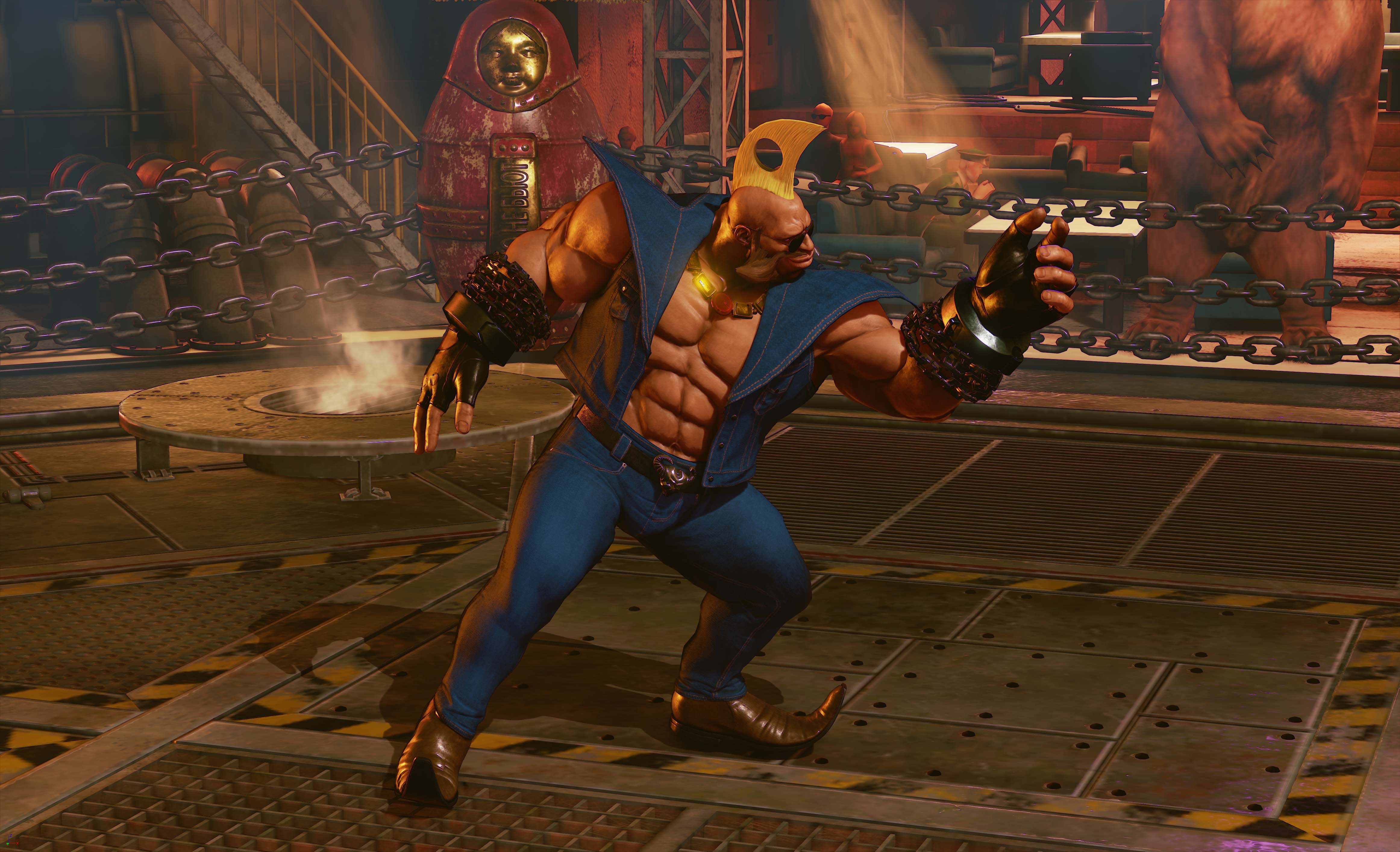 Holiday Street Fighter 5 DLC Costumes Coming This Month