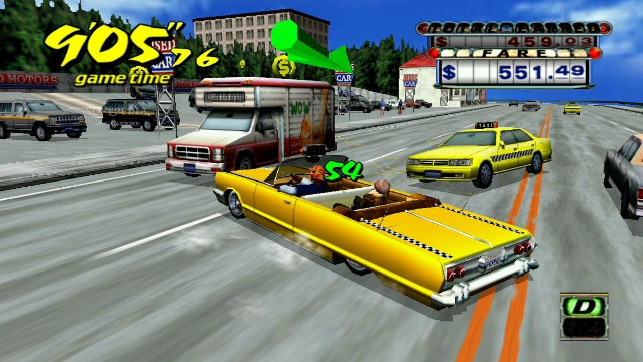 Crazy Taxi Something or Other