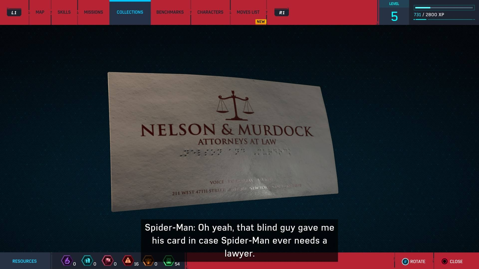 3. Lawyer's Business Card