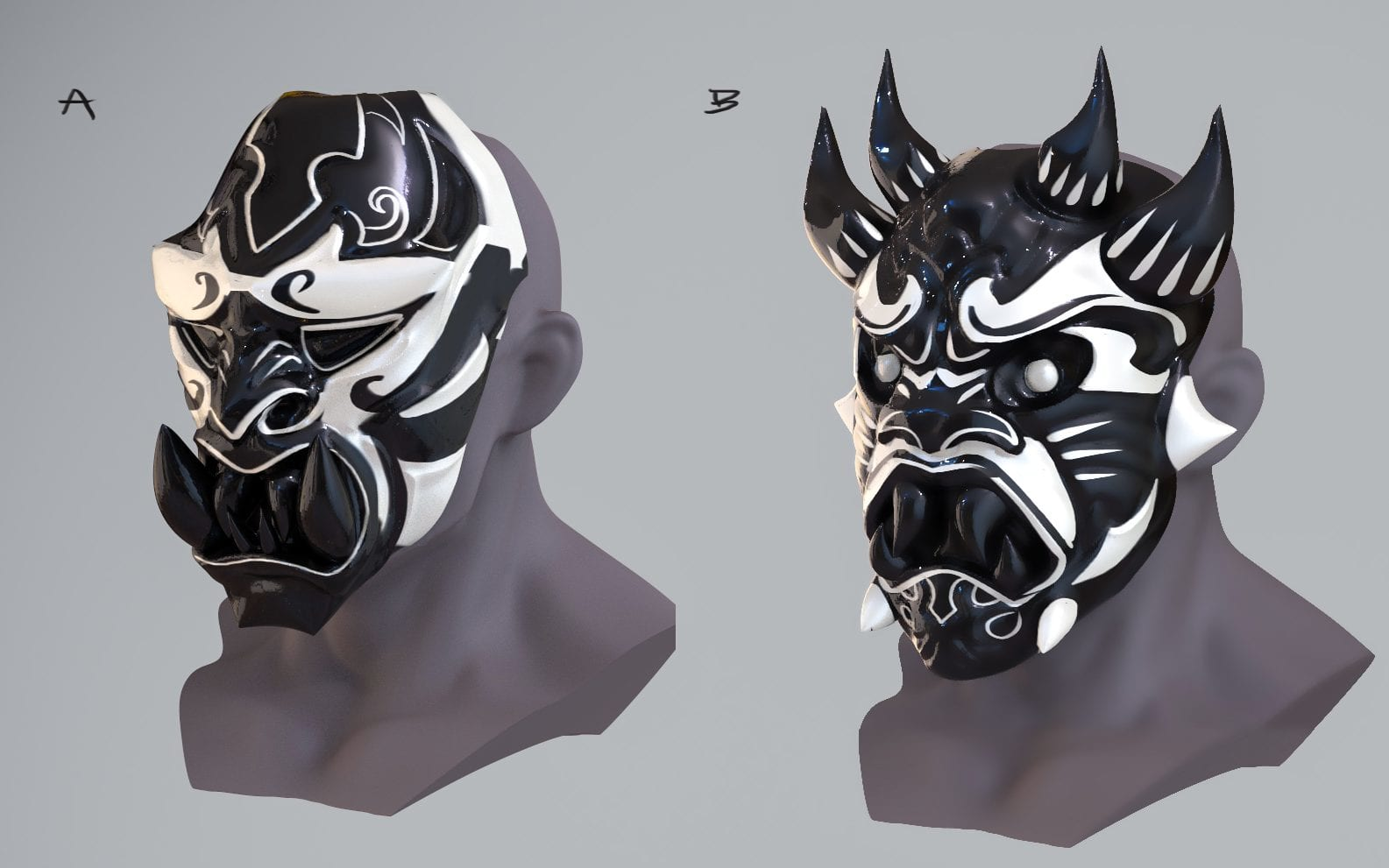 Spiderman - Inner Demon Mask Concept