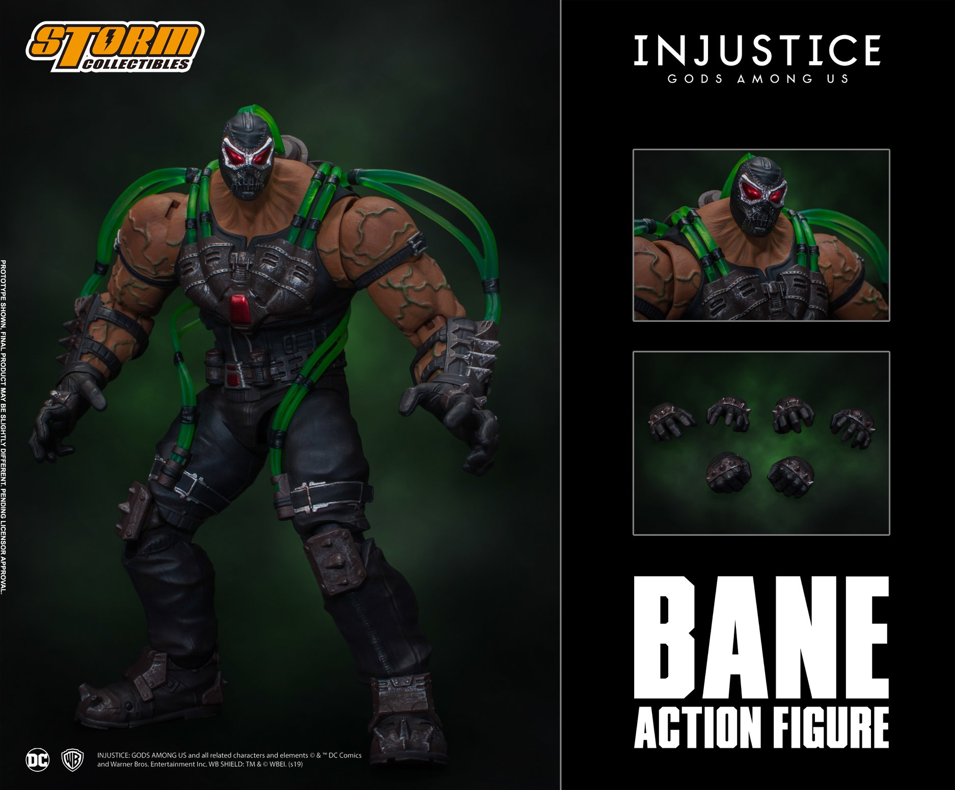 Storm Collectibles Injustice Bane Figure