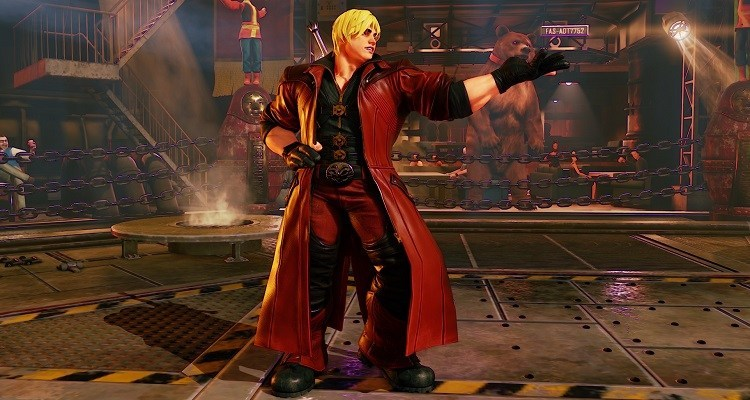 Ken as Dante (Devil May Cry)