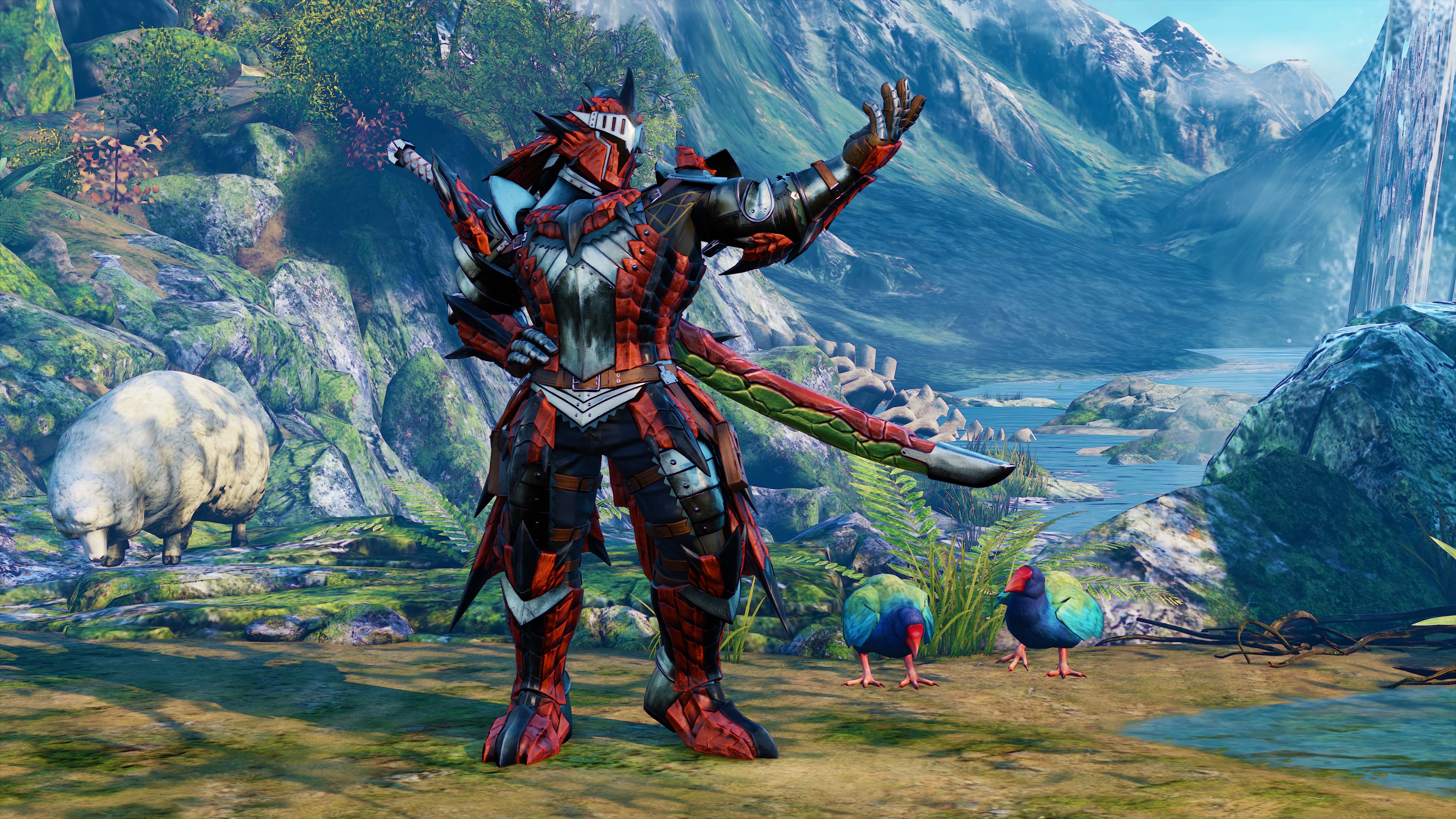 Rathalos Armor for Ken
