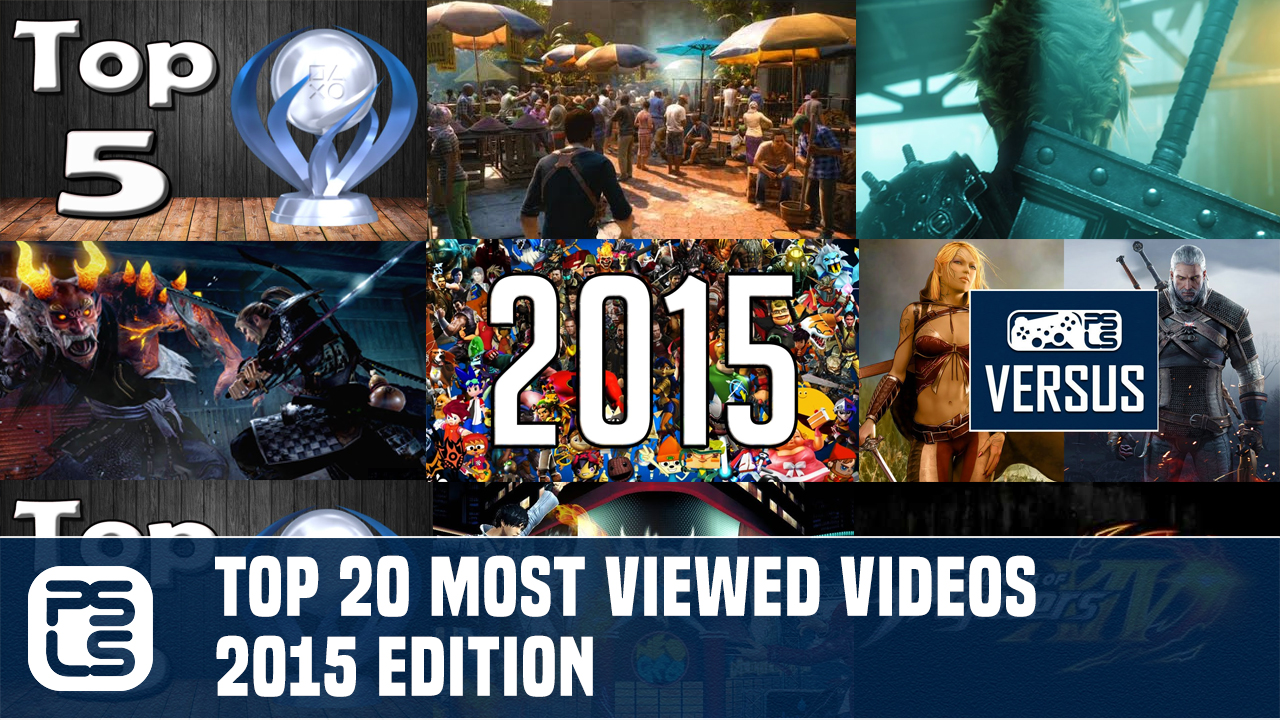 Top 20 Most Viewed Videos of 2015