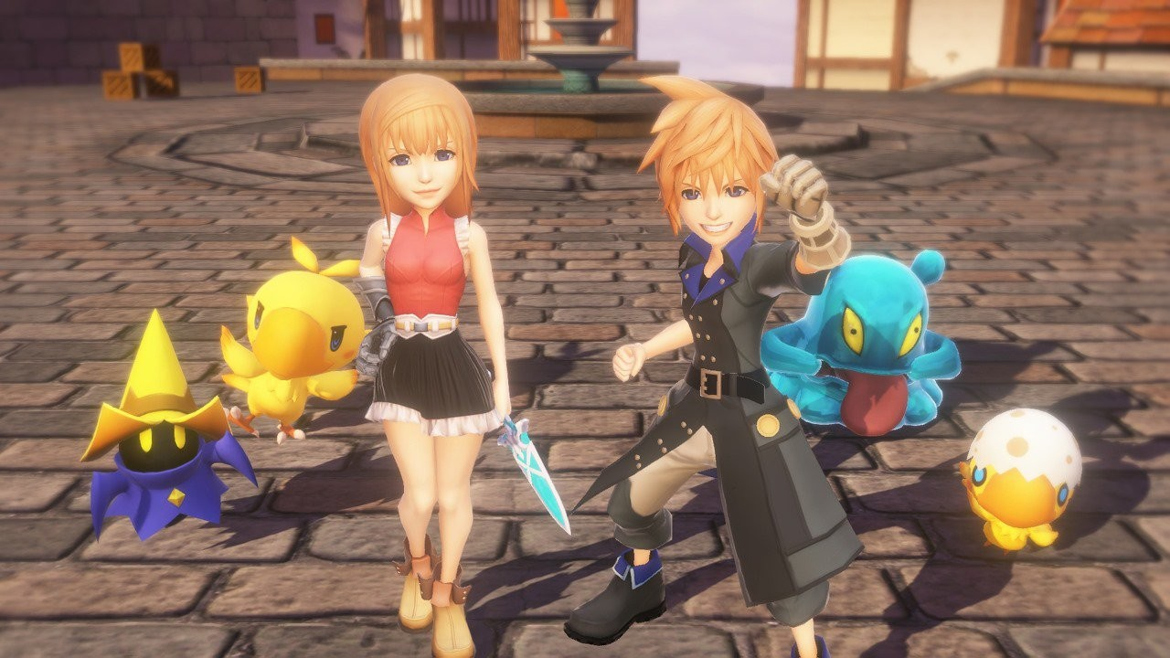 World of Final Fantasy (PS4/Vita) - October 25, 2016