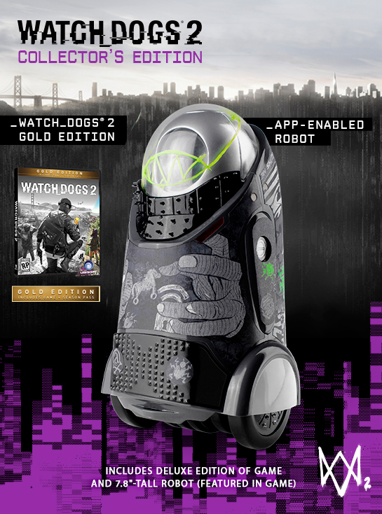 Watch Dogs 2 Collector's Edition