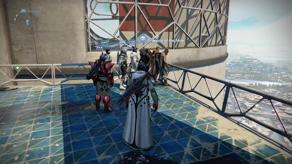 Xur – Agent of the Nine can be found in Tower North, close to The Speaker.